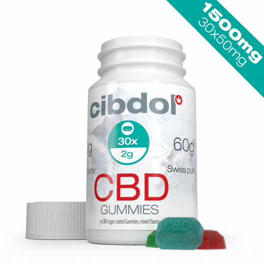 CBD Gummies (1500mg CBD)